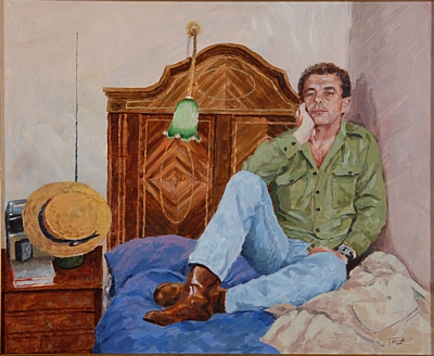 Portrait of Chris by Simon Taylor