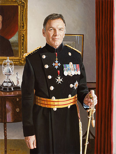 General Sir Andrew Gregory, a Portrait by Simon Taylor