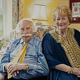 Eric and Maureen portrait by Simon Taylor