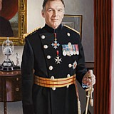 General Sir Andrew Gregory portrait painting by Simon Taylor
