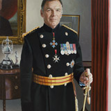 Gen Sir Andrew Gregory, portrait by Simon Taylor